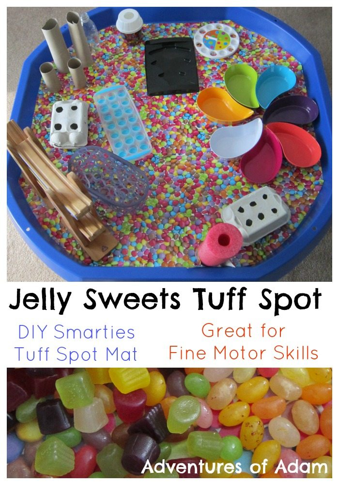 Jelly Sweets Tuff Spot Adventures of Adam Tuff Spot A to Z Challenge