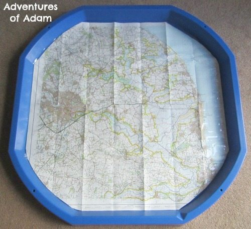 Adventures of Adam Map DIY Tuff Spot Mat