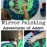 Adventures of Adam Mirror Painting Adventures of Adam
