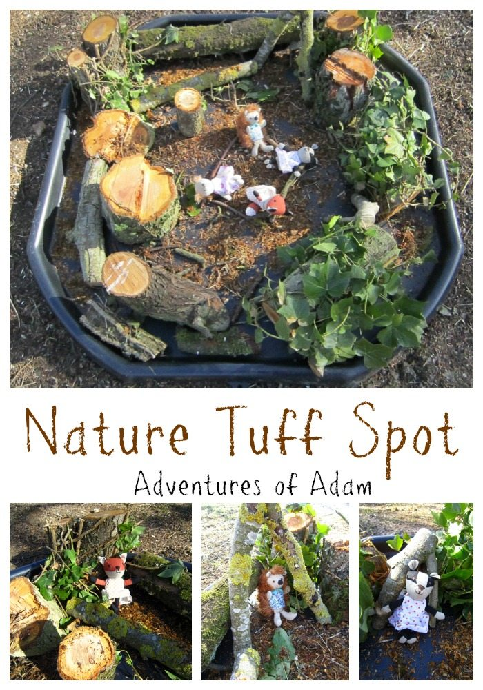 Nature Tuff Spot Adventures of Adam