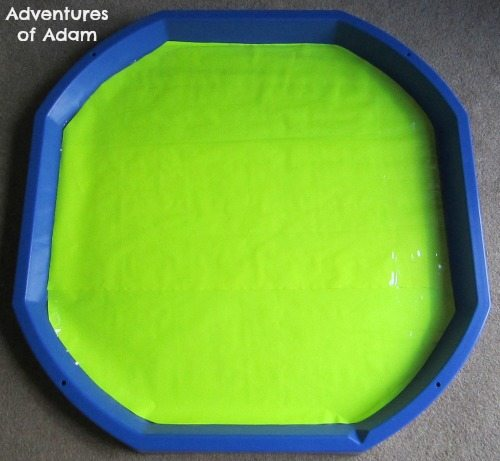 Adventures of Adam Neon Yellow DIY Tuff Spot Mat