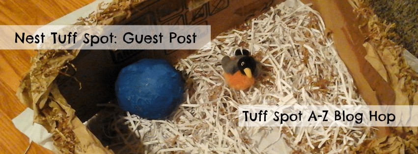 N is for Nest Tuff Spot: Guest Post