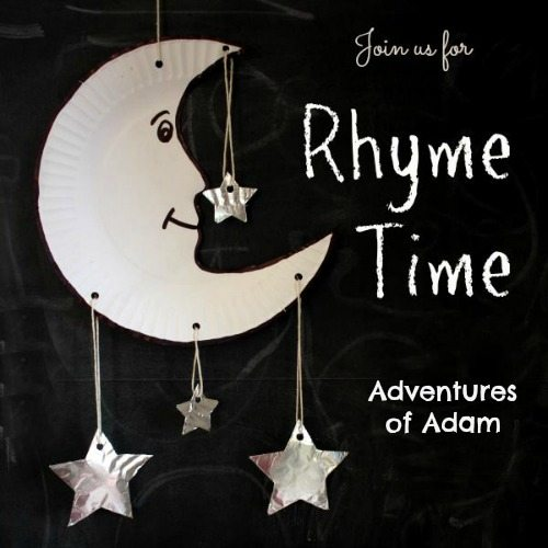 Adventures of Adam Rhyme Time Blog Hop