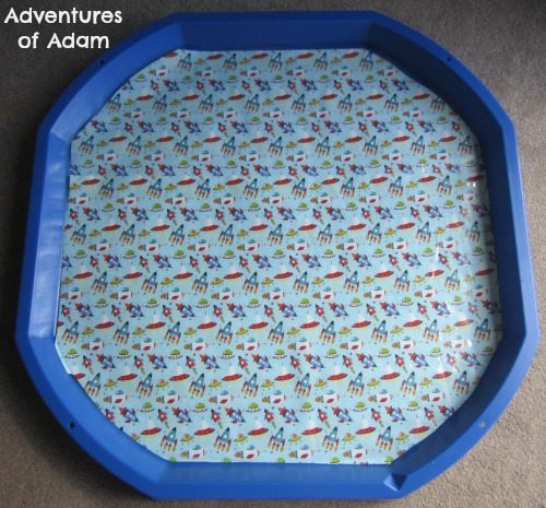 Adventures of Adam Space DIY Tuff Spot Mat