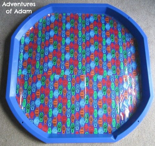 Adventures of Adam Time and clocks DIY Tuff Spot Mat