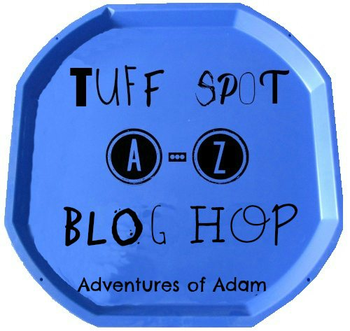 Adventures of Adam Tuff Spot A-Z Blog Hop Logo
