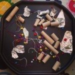 Firework Loose Parts Tuff Spot from Clares Little Tots