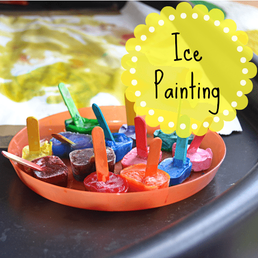 Adventures of Adam Ice Painting Tuff Spot