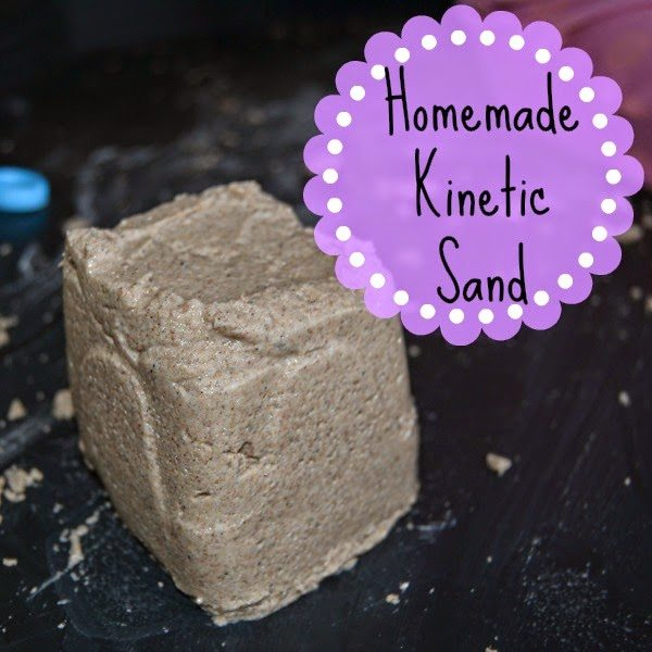 Kinetic Sand Homemade Tuff Spot