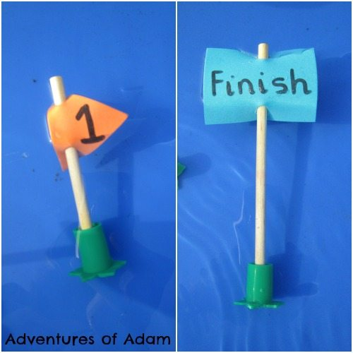 Adventures of Adam Boat race marker fail
