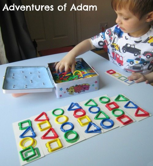 Adventures of Adam Independent toddler shape play