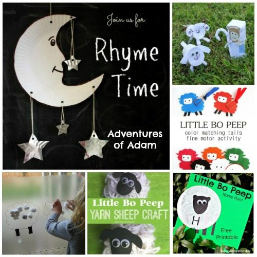Adventures of Adam Little Bo Peep Rhyme Time