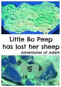 Adventures of Adam Little Bo Peep has lost her sheep