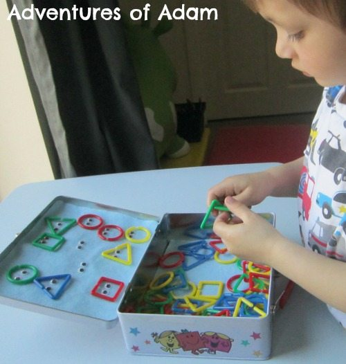 Adventures of Adam Mr Men shape faces