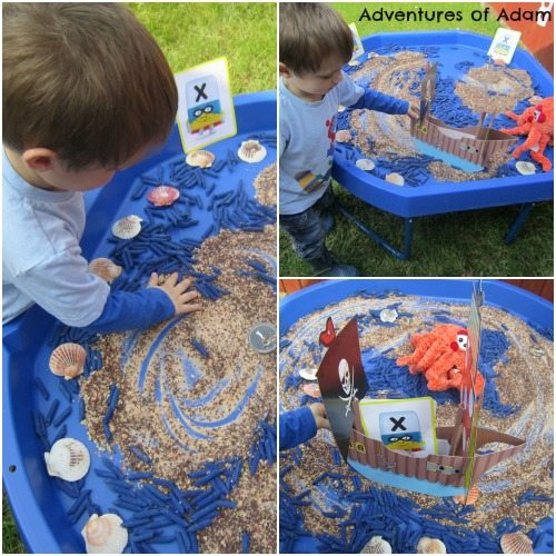 Adventures of Adam Pirate Sensory Tuff Spot