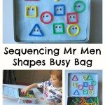 Adventures of Adam Sequencing Mr Men Busy Bag Adventures of Adam