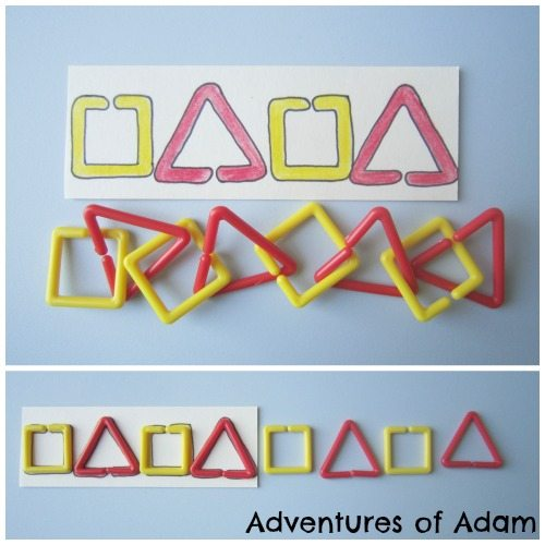 Adventures of Adam Sequencing Shape Links