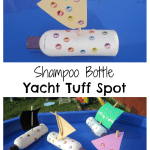 Adventures of Adam Shampoo Bottle Yacht Tuff Spot