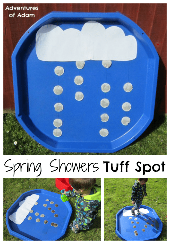 Spring Showers Tuff Spot Adventures of Adam