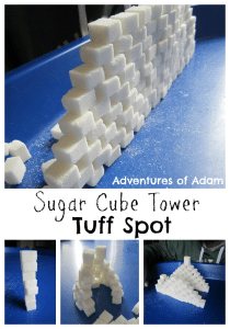 Adventures of Adam Sugar Cube Tower Tuff Spot