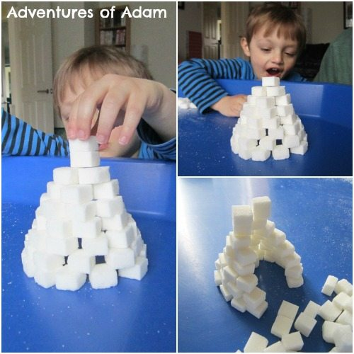 Adventures of Adam Sugar cube Igloo