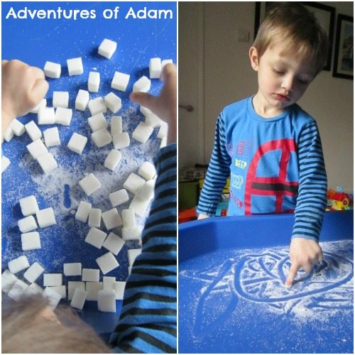 Adventures of Adam Sugar mark making