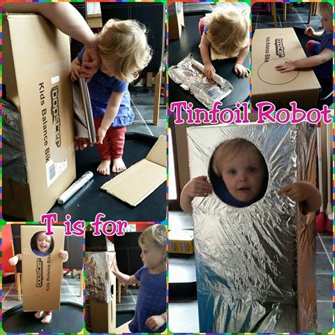 Adventures of Adam Tin Foil Robot Tuff Spot