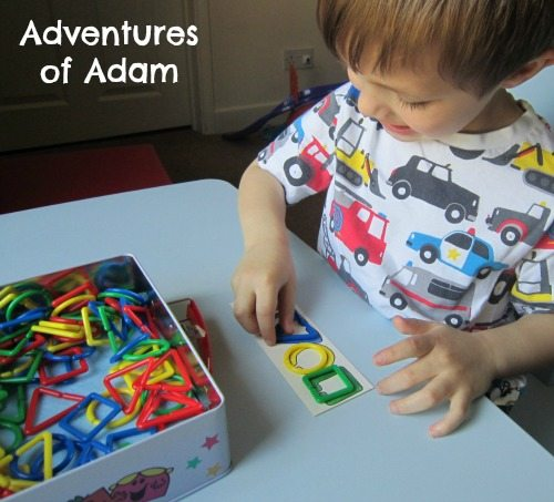 Adventures of Adam Toddler shape game