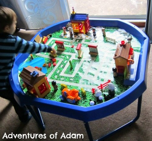 Adventures of Adam Toddler village tuff spot