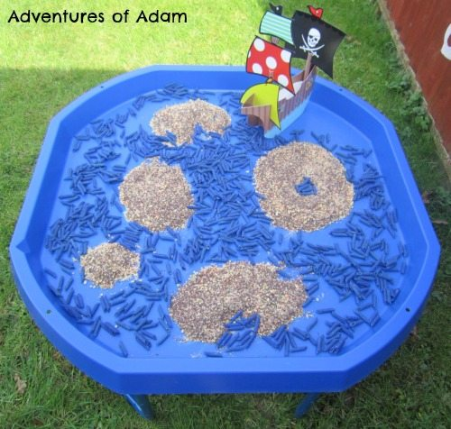 Adventures of Adam Treasure Map Tuff Spot