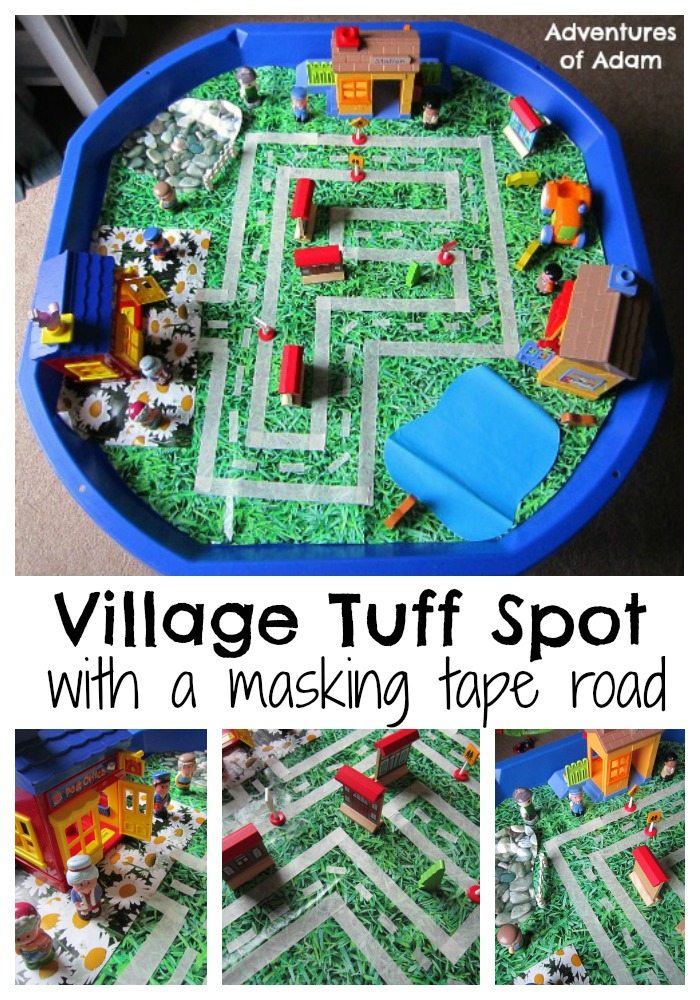 Village Tuff Spot Adventures of Adam