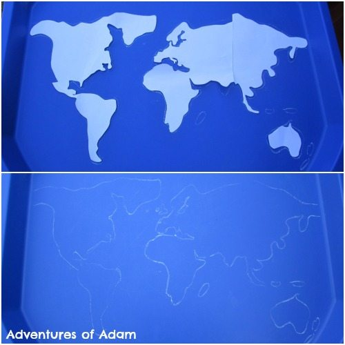Adventures of Adam World Map Tuff Spot
