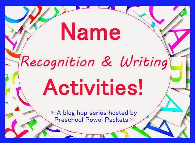 name recognition and writing series image