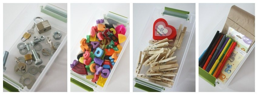 25-Busy-Boxes-Nuts-Bolts-keys-Alphabet-Math-Drawing-Paper-Bag-Puppets