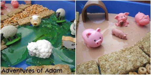 Adventures of Adam Angel Delight pig bath