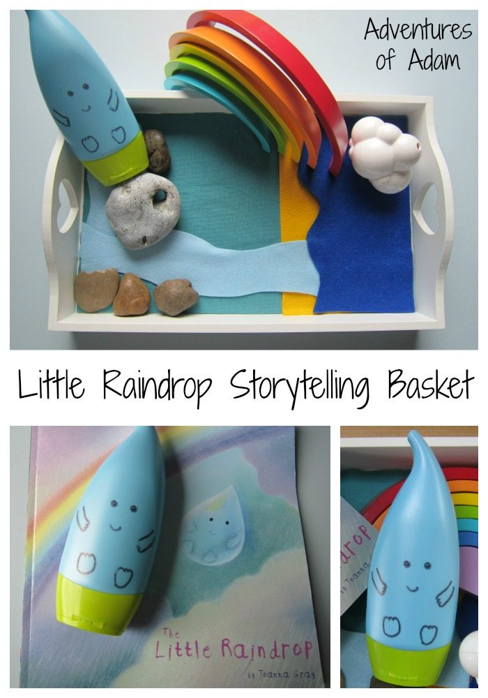 Little Raindrop Storytelling Basket Adventures of Adam