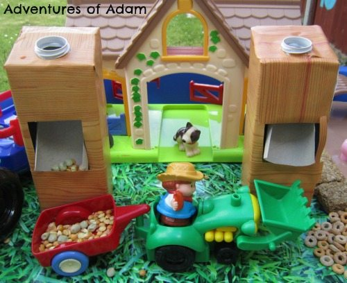 Adventures of Adam Make your own farm silo