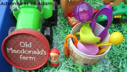 Adventures of Adam Old MacDonald's Farm fine motor skills