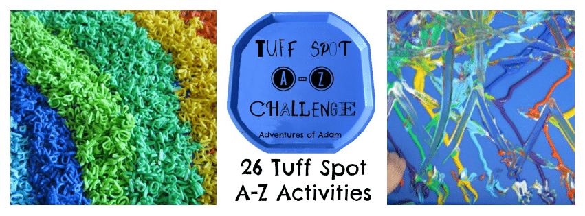 Adventures of Adam 26 Tuff Spot Activities