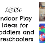 Adventures of Adam Indoor Play Ideas for Toddlers and Preschoolers