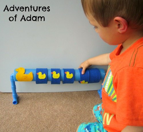 Adventures of Adam Five Little Ducks nursery rhyme