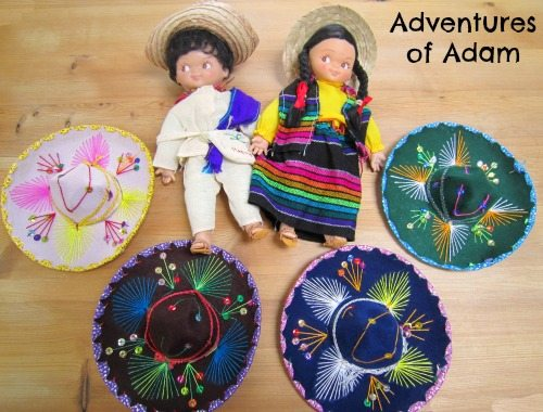 Adventures of Adam Mexican dolls