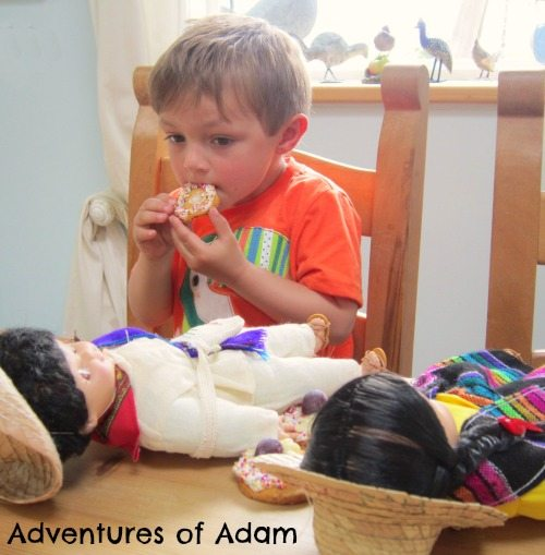 Adventures of Adam Mexican tea party