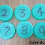 Adventures of Adam Milk bottle top numbers