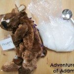 Adventures of Adam No sew weighted Gruffalo