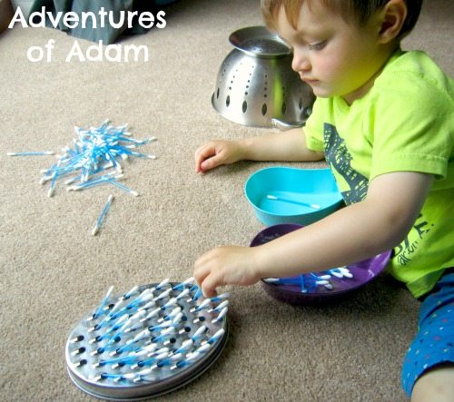 Adventures of Adam Toddler fine motor skills