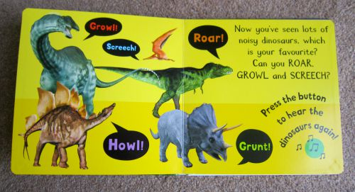 Dinosaur book for toddlers