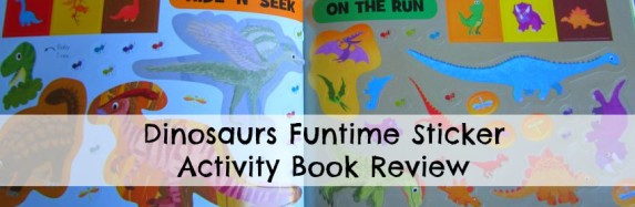Dinosaurs Funtime Sticker Activity Book Review