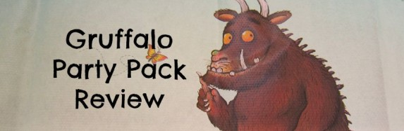 Gruffalo Party Pack Review