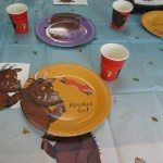 Adventures of Adam Gruffalo party table